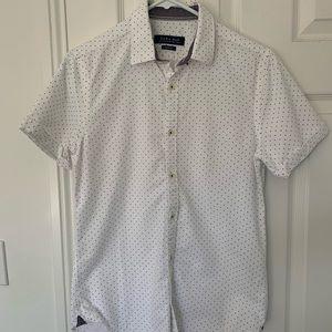 Men's Zara slim fit shirt sleeve shirt